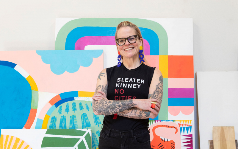 Finding Your Voice: Uncovering the Holy Grail. A talk by Lisa Congdon. | AIGA Jacksonville